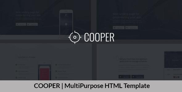 COOPER | MultiPurpose HTML Template
