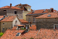 Roofs in old town of Budva, Montenegro - PhotoDune Item for Sale