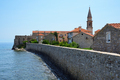 City walls in old town of Budva, Montenegro - PhotoDune Item for Sale