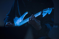 Guitarist playing live music on the stage - PhotoDune Item for Sale