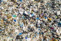 Aerial view of dump in forest. Pollution concept, top view - PhotoDune Item for Sale