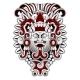 Warrior Tribal Mask Vector Illustration - GraphicRiver Item for Sale