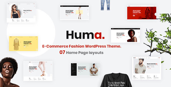 Huma – Fashion E-commerce WordPress Theme
