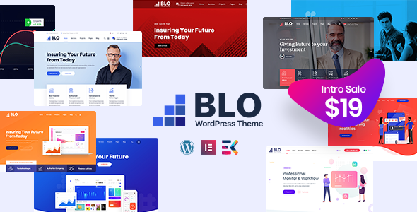 BLO – Corporate Business WordPress Theme Free Download