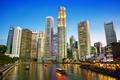 Singapore downtown skyline - PhotoDune Item for Sale