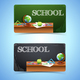 Education Horizontal Banners - GraphicRiver Item for Sale