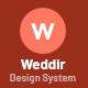 Weddir - Design System Psd for Wedding Marketplace - ThemeForest Item for Sale