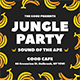 Jungle Party Flyer Set - GraphicRiver Item for Sale