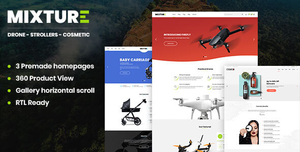 Mixture | Single Product Shopify Theme
