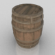 Pack of 8 Medieval Wooden Barrels - 3DOcean Item for Sale