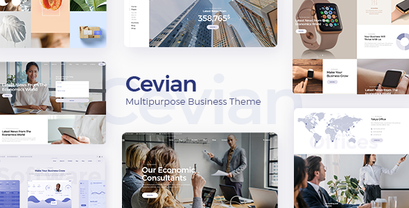 Cevian – Multipurpose Business Theme Free Download
