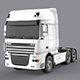 DAF XF 105 White - 3DOcean Item for Sale