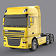 DAF XF 105 Yellow - 3DOcean Item for Sale