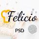 Felicio - Restaurant and Cafe PSD Template - ThemeForest Item for Sale