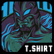 Fabulous Fighter T-Shirt Design - GraphicRiver Item for Sale