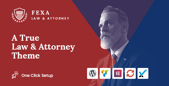 Fexa- Lawyer & Attorney WordPress Theme