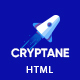 Cryptane - Bitcoin and Cryptocurrency HTML Landing Page - ThemeForest Item for Sale