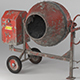 Cement Mixer Dirty and Clean - 3DOcean Item for Sale