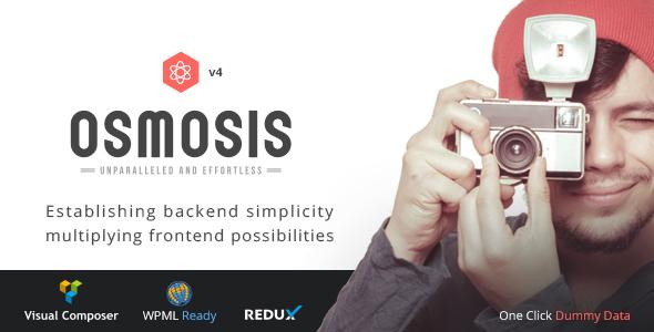 Osmosis - Responsive Multi-Purpose Theme