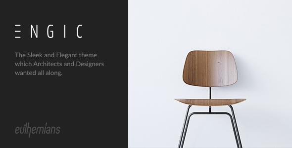 Engic - A Sleek Multiuse Responsive WP Theme
