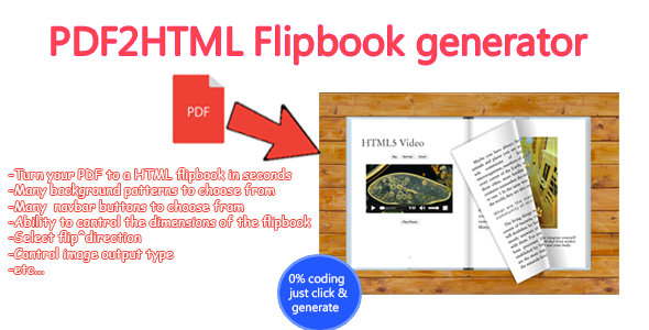 Advanced PDF to HTML Flipbook generator Download