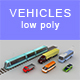 Low-poly sity cars (set 2) - 3DOcean Item for Sale