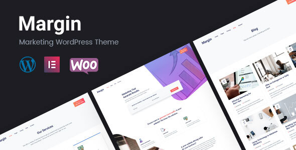 Margin | Marketing WordPress Theme