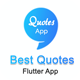 Flutter App Quotes - CodeCanyon Item for Sale