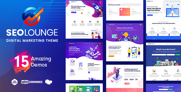 SEO Lounge - Digital Marketing Theme