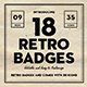 Retro Logo Badges - GraphicRiver Item for Sale