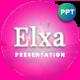 Elxa Tropical Presentation Template - GraphicRiver Item for Sale