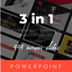 3 in 1 Multipurpose PowerPoint Template(Vol.01) - GraphicRiver Item for Sale