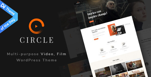 Circle - Multipurpose Film maker & Video WordPress theme