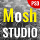 Mosh - Photographer One Page PSD Template - ThemeForest Item for Sale