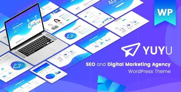 Yuyu - SEO Agency WordPress Theme