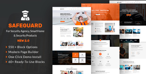 Safeguard - Security & Guard Theme