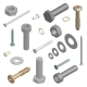 Set of Fasteners - GraphicRiver Item for Sale