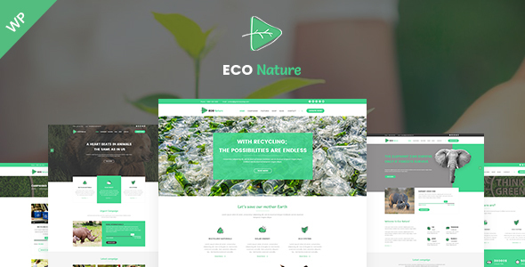 Eco - Eco Nature WordPress Theme