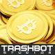 Golden Bitcoin Pile - GraphicRiver Item for Sale