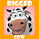 3D Rigged Cow - 3DOcean Item for Sale