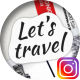 Traveler's Sketchbook - Instagram Stories Pack - VideoHive Item for Sale