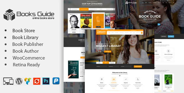 Book Store WordPress Theme