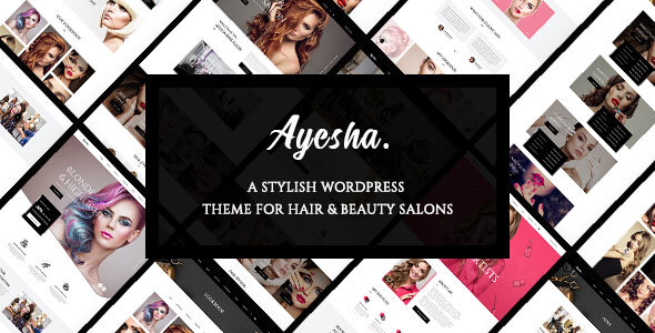Ayesha - Hairdressers and Beauty Salons WordPress Theme