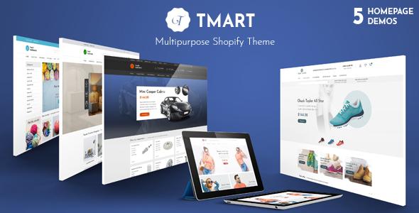 Tmart - Multipurpose Responsive Shopify Theme