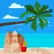 Tropical Panoramic Blue Sea Landscape - GraphicRiver Item for Sale