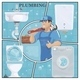 Cartoon Plumbing Service Colorful Concept - GraphicRiver Item for Sale