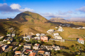Aerial view of Rebeirao Manuel in Santiago island in Cape Verde - PhotoDune Item for Sale