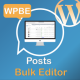 WPBE - WordPress Posts Bulk Editor Professional - CodeCanyon Item for Sale