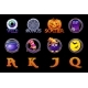 Halloween Slots Icons - GraphicRiver Item for Sale