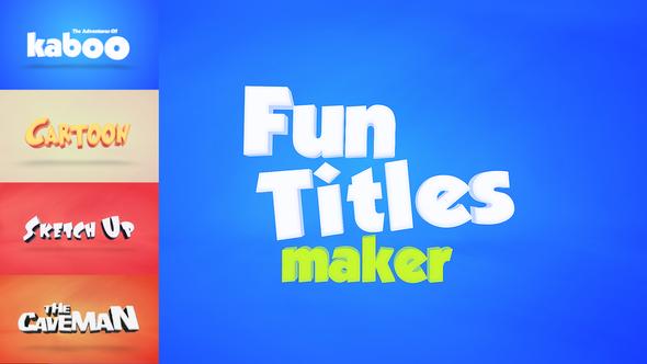 Fun Titles Constructor